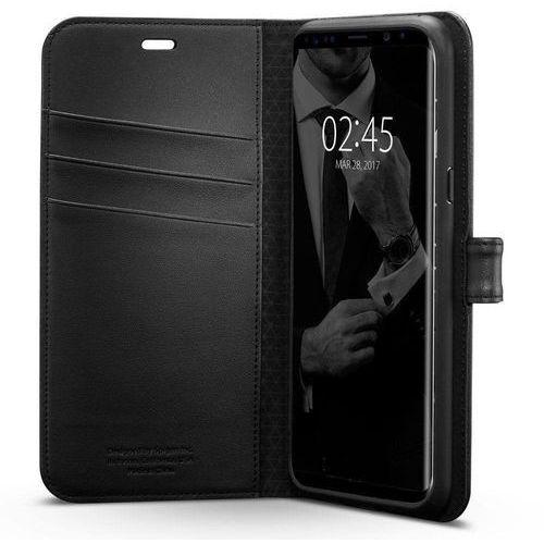 Spigen Wallet S 571CS21687 Samsung Galaxy S8+ (czarny), kolor czarny