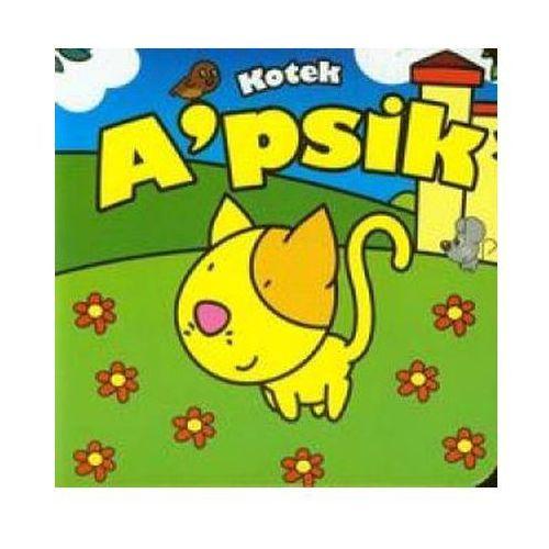 Kotek Apsik Mini zwierzątka, książka w oprawie twardej