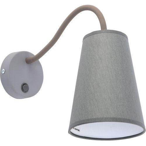 Tk lighting Kinkiet wire gray 1xe27/60w/230v (5901780524463)