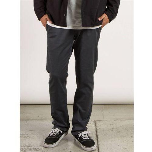 Volcom Spodnie - frickin modern stret charcoal (chr) rozmiar: 28