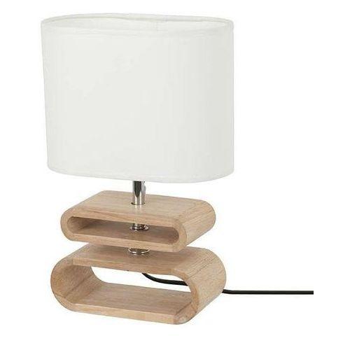 Corep Itto-lampa stojąca drewno & len wys.30cm