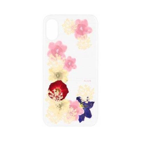 Etui iplate real flower grace do apple iphone x wielokolorowy (30111) marki Flavr