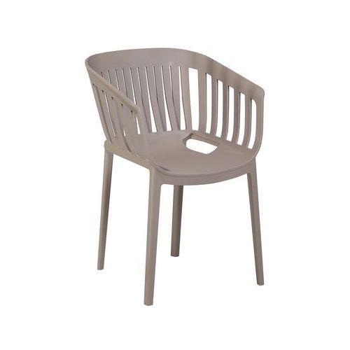 Beliani Krzesło do jadalni jasnoszare dallas (7105276807810)