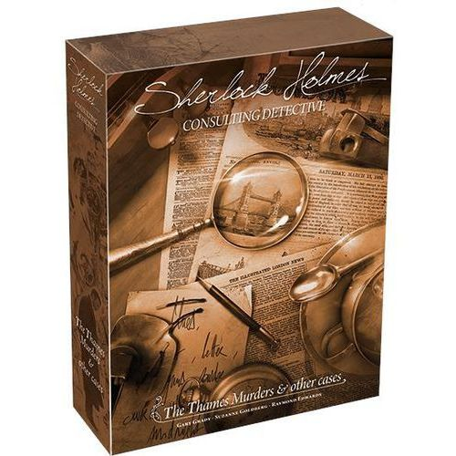 Asmodee Sherlock holmes consulting detective: the thames murders other cases