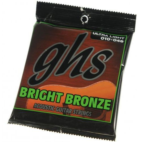 GHS Bright Bronze 10U struny do gitary akustycznej 10-46