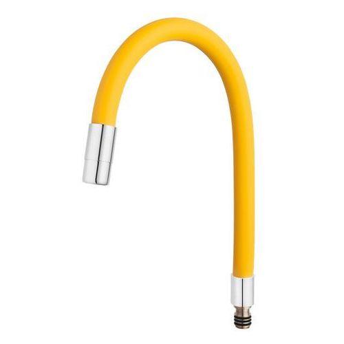 Ferro wylewka elastyczna do baterii fitness, żółta (5902194954310)