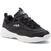 Sneakersy FILA - Ray Low 1010561.25Y Black, w 3 rozmiarach