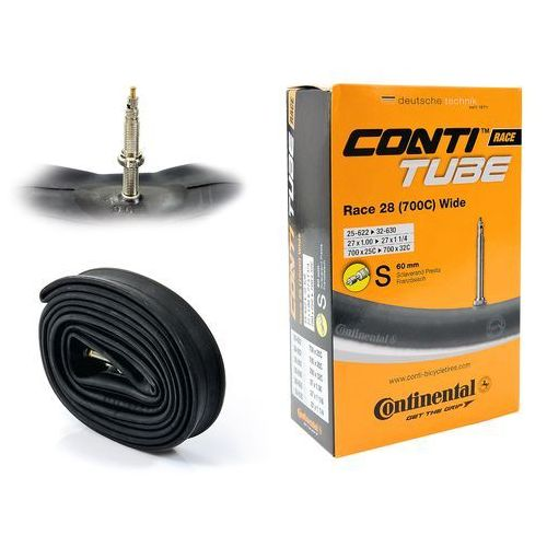 "Continental Co0181931 dętka race wide 28"" x 1,0"" - 1,25"" wentyl presta 60 mm"