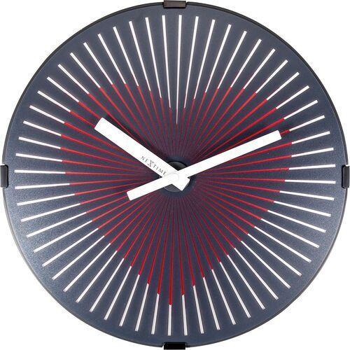 Zegar ścienny Motion Heart Nextime 30 cm - pulsujące serce (3221/3124)