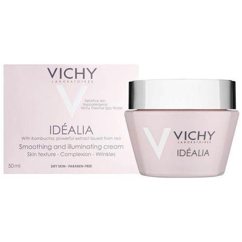 Vichy  idealia smoothing and illuminating day cream 50ml - dry skin (3337875491563)