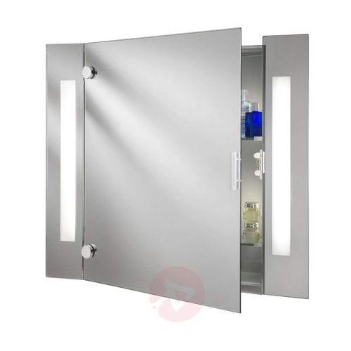Nowoczesna szafka z lustrem SILVA z oświetleniem