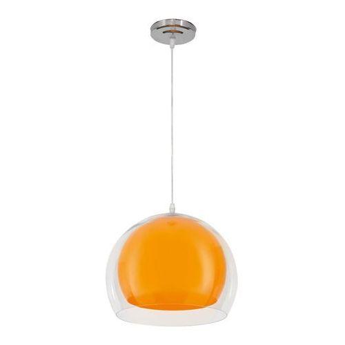 Lampa wisząca Malta pomarańcz Lampex 328/1 POM
