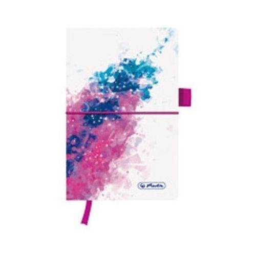 Notes Herlitz my.book flash Splash Pink 50003303 A5/96k. linia