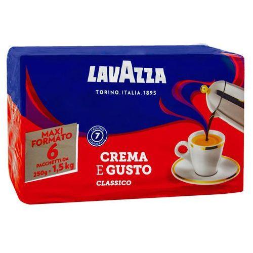 Lavazza Crema e Gusto 6 x 0,25 kg mielona (8000070038400)