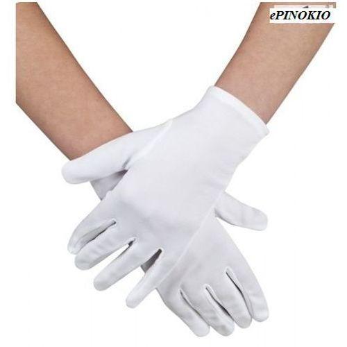 Rękawiczki lata 20-te białe - przebrania i dodatki dla dorosłych marki Aster