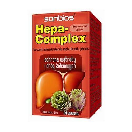 Hepa Complex 60 tabl. (artykuł z kategorii Pozostałe leki chorób układu pokarmowego)