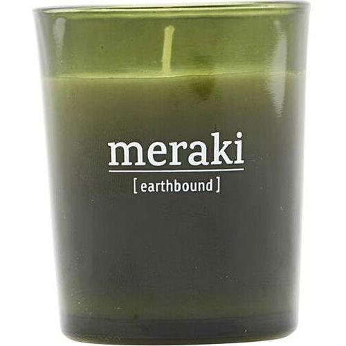 Świeca zapachowa meraki earthbound mała w zielonym szkle (5707644661646)