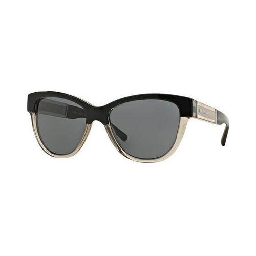 Okulary Słoneczne Burberry BE4206F Trench Asian Fit 355887, kolor żółty