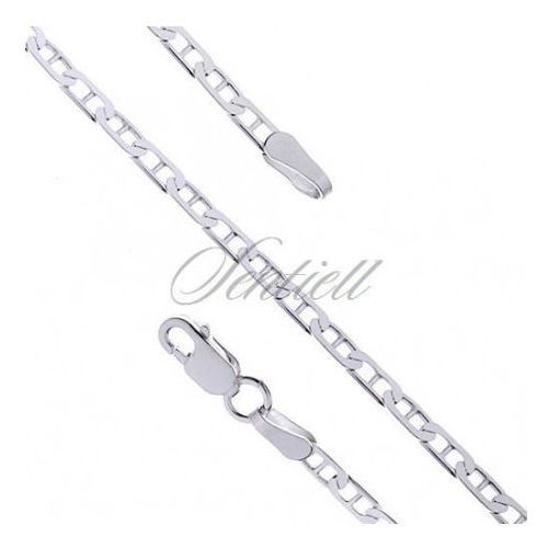 Silver (925) anchor chain with stud links Ø 060 weight from 3,7g - fspd60 marki Sentiell