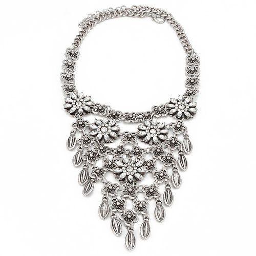 By milla Kolia flower silver - silver
