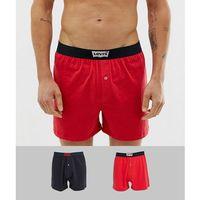 Levi's 2 pack batwing logo woven boxers - Multi, w 4 rozmiarach