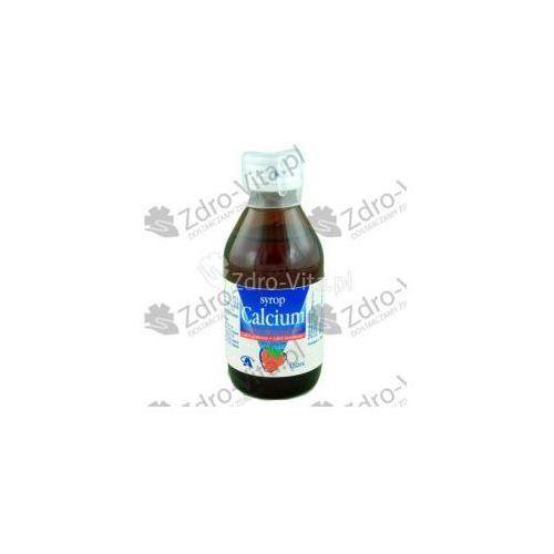 Syrop Calcium Aflofarm (o smaku truskawkowym) syrop 0,116 g Ca2+/5ml 150 ml (butelka)