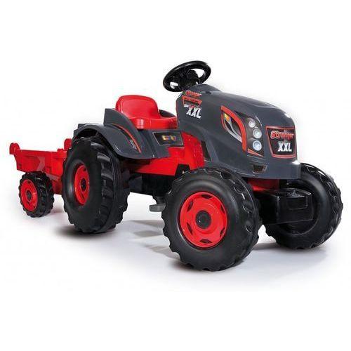 Smoby  traktor xxl + przyczepa - darmowa dostawa! (3032167102003)