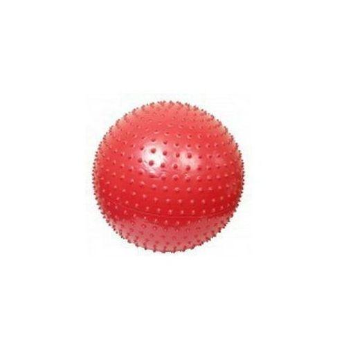 ATHLETIC24 Massage 75 czerwona - Piłka do masażu z kolcami - Czerwony