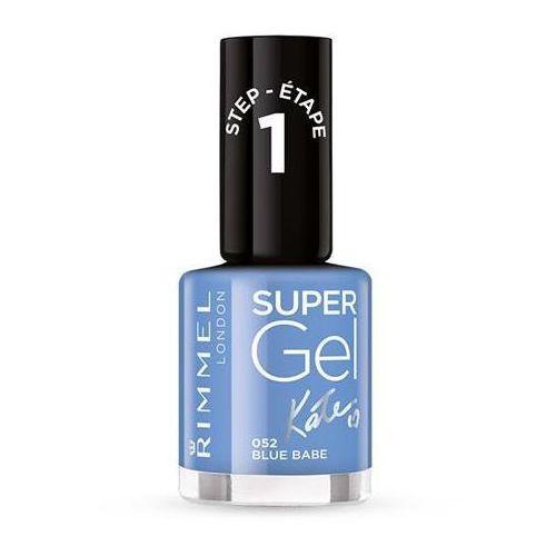 RIMMEL_Super Gel lakier do paznokci 052 Blue Babe 12ml - sprawdź w wybranym sklepie