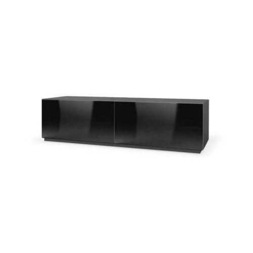 Tres szafka RTV 160 czarna wysoki połysk
