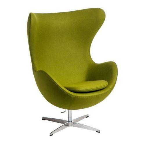 Fotel Jajo kaszmir zielony jasny 40 Premium