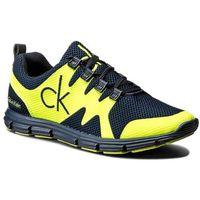 Sneakersy CALVIN KLEIN JEANS - Murphy SE8525 Navy/Yellow Fluo, w 7 rozmiarach
