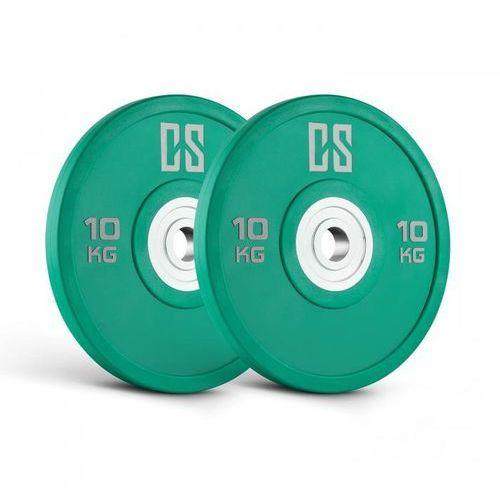 Capital Sports Performan Urethane Plates obciążenie para 10kg zielone