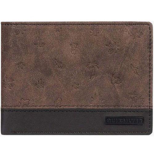 Portfel - mini mo wallet pu chocolate brown (csd0) rozmiar: os marki Quiksilver
