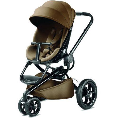 QUINNY Wózek spacerowy Moodd Toffee crush - czarny stelaż z kategorii Stelaże do wózków
