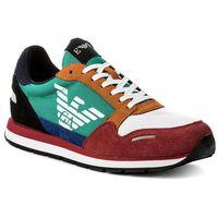 Sneakersy EMPORIO ARMANI - X4X215 XL200 A005 Scarlet Multicolor