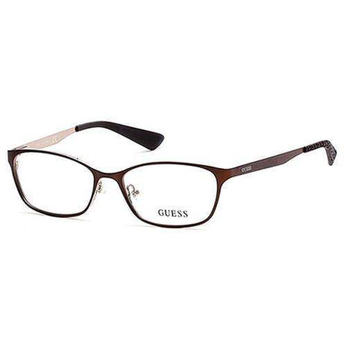 Okulary korekcyjne  gu 2563 049 marki Guess