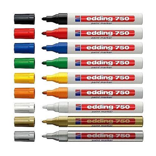Marker olejowy 750 niebieski marki Edding