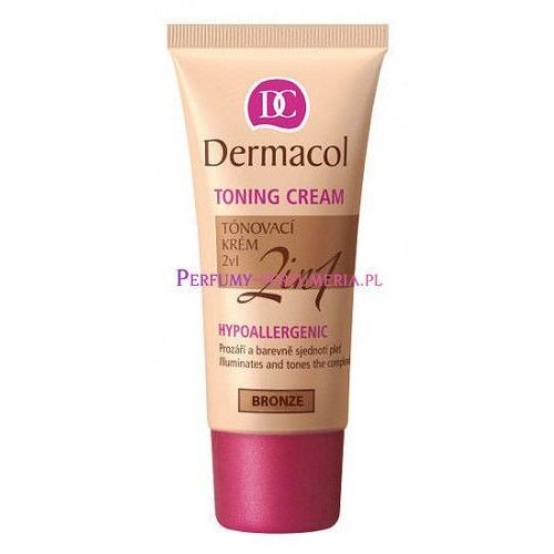 Dermacol Toning Cream 2in1 30ml W Krem koloryzujący Brown do wszystkich typów skóry