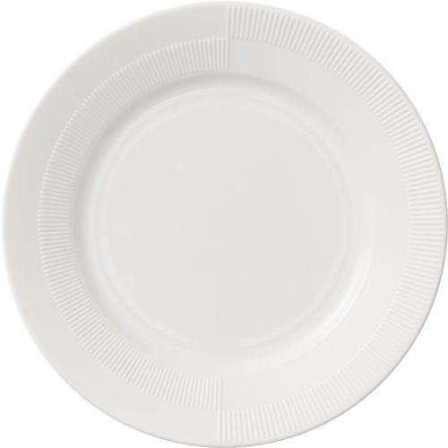 Talerz płaski Duet biały 23 cm, 21221