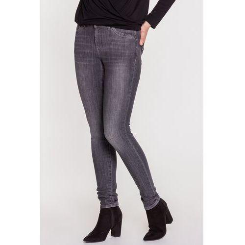 Czarne spodnie jeansowe Vanessa RJ Rocks Jeans, jeansy