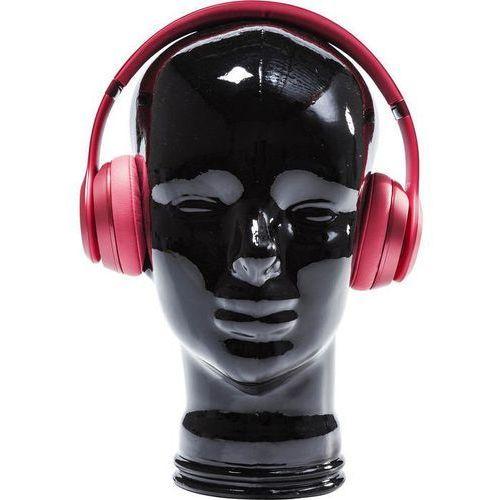 Kare design :: dekoracyjna głowa headphone mount - czarna - czarny