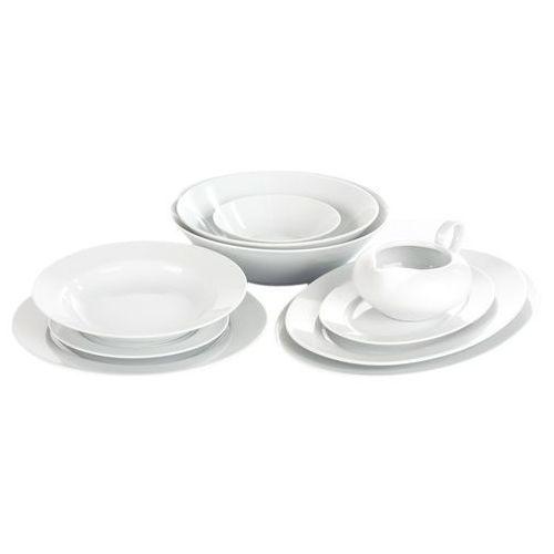 Chodzież yvette biała linea serwis obiadowy 44/12 e755 marki Ćmielów / yvonne