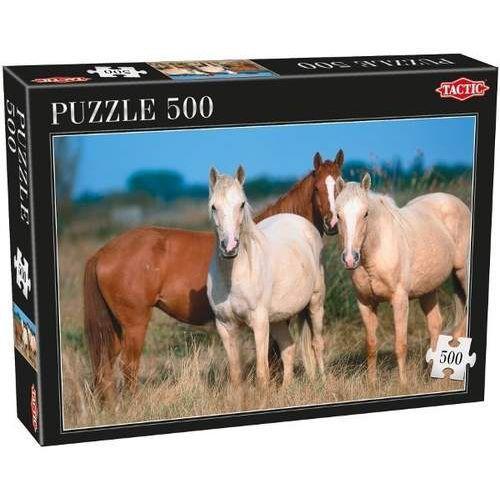 Tactic 3 konie puzzle 50 0 el. (6416739535609)