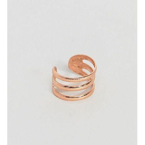 Kingsley Ryan Rose Gold Plated Ear Cuff - Gold