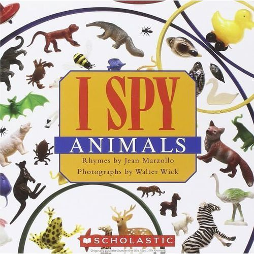 I spy little animals, Scholastic
