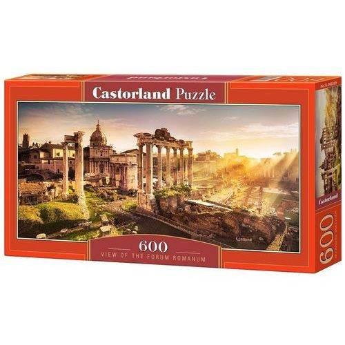 Castor Puzzle 600 el. panoramiczne: view of the forum romanum/ b-060269 (5904438060269)