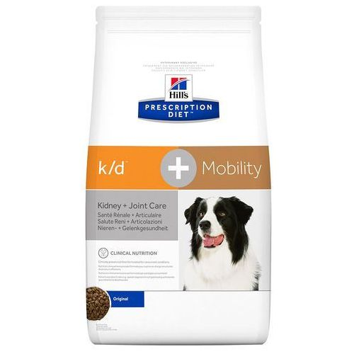 Hills prescription diet canine k/d+mobility - 2 x 12 kg