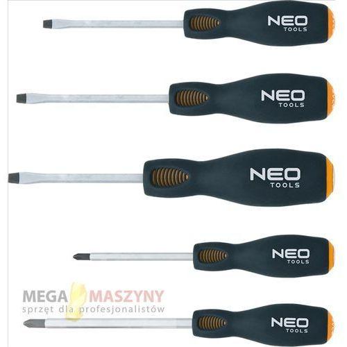NEO TOOLS Zestaw wkrętaków do pobijania 04-240 z kategorii Zestawy narzędzi ręcznych