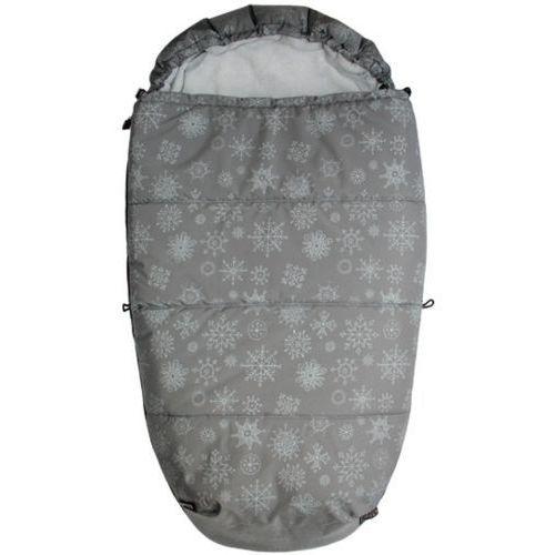 śpiworek do wózka mumie płatek śniegu, szary marki Emitex